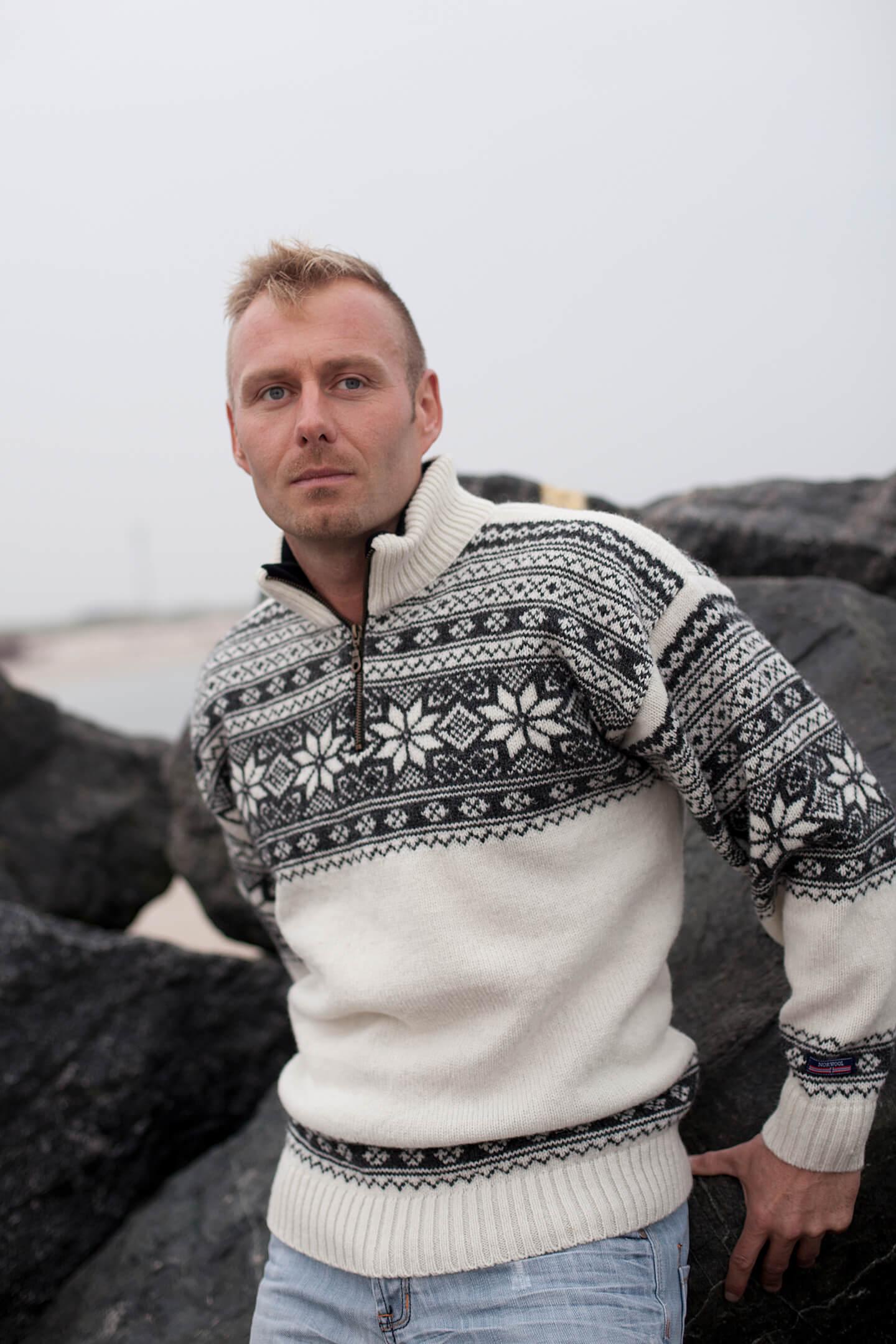 Setesdal Norweger pullover von NORWOOL aus reiner neuer wolle.