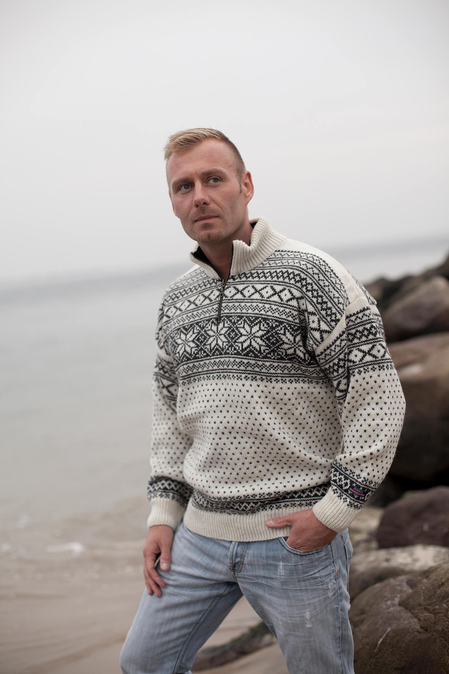 Norweger Setedals Pullover aus reiner neuer Wolle von NORWOOL
